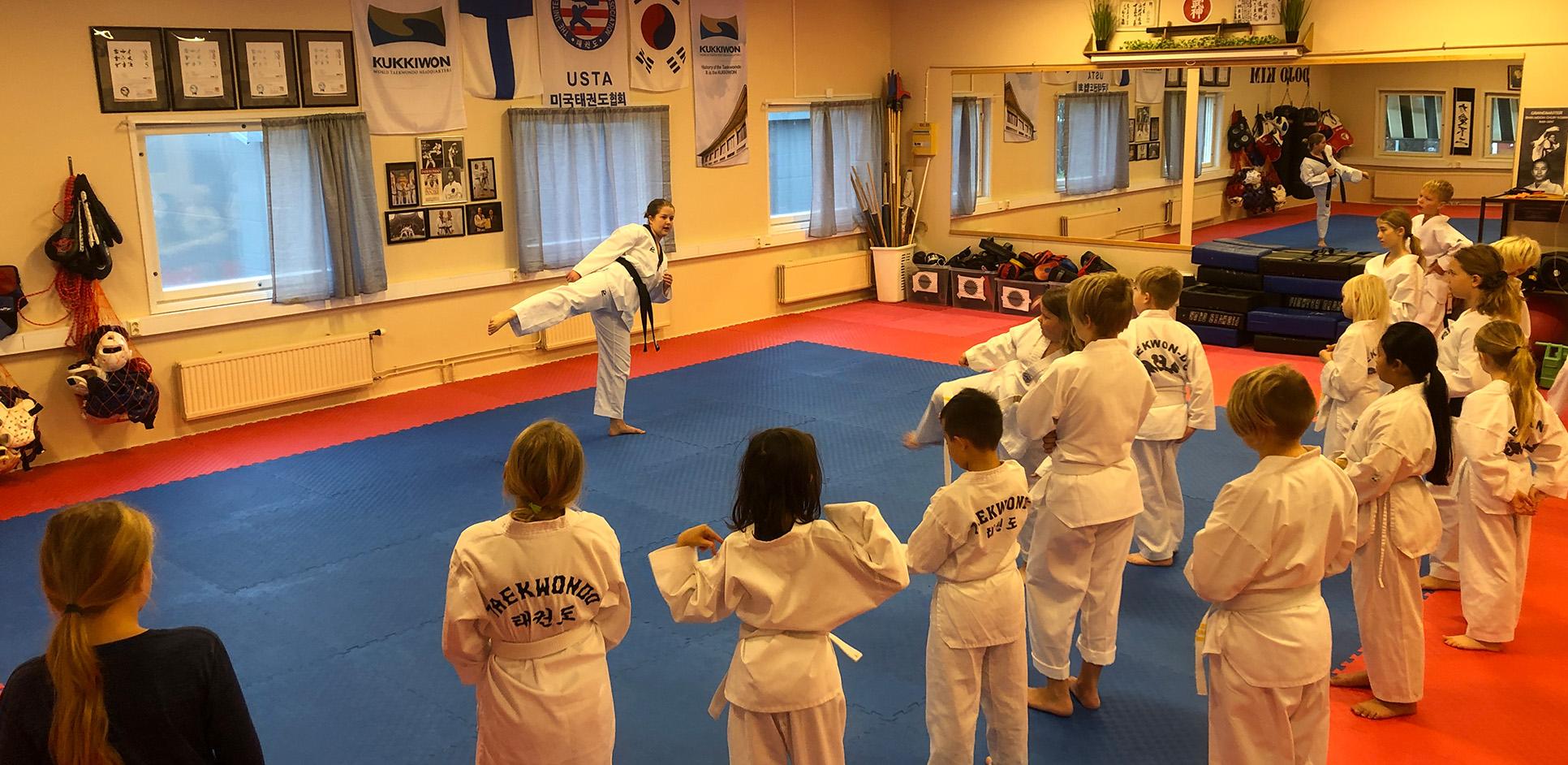 Taekwondo för barn