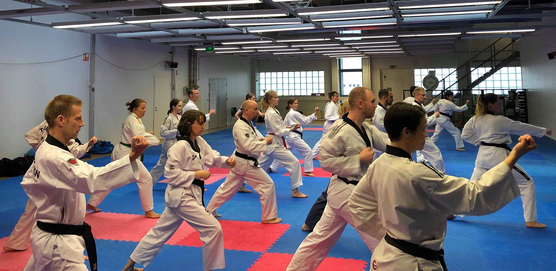 Träningstider taekwondo